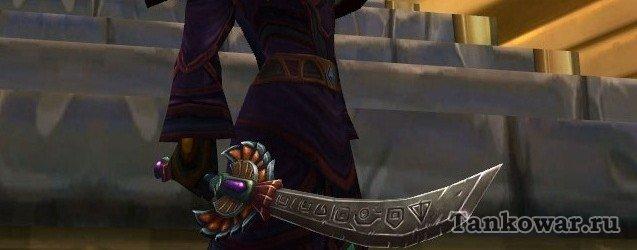 «Клинок палящего солнца» - отличное оружие для трансмогрификаций в восточном стиле.