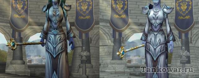 Несмотря на то, что нам этого не обещали, в Warlords of Dranor дренеи стали выглядеть порядком лучше.