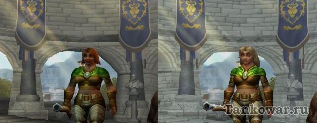 Модели персонажей Warlords of Draenor могут похвастаться намного большей детализацией. Без базара.
