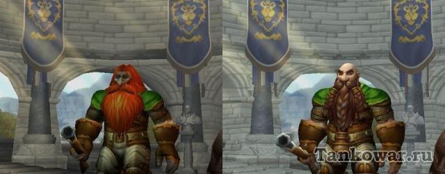 Из набора пикселей дварф преваращается… превращается… превращается в очень даже характерного персонажа.