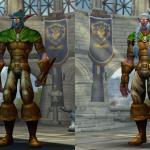 Модели персонажей Warlords of Draenor позволили ночным эльфам выйти из тени и показать себя во всей красе.