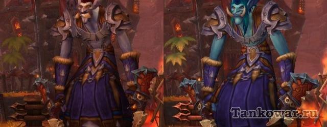 Хоть и изменившись в лучшую сторону, модели персонажей Warlords of Draenor всё равно очень хорошо показывают их внутреннюю сущность: тролль - он и в Африке… то есть и в Warlords of Draenor тролль.