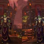 Что в Пандарии, что в Warlords of Draenor женские персонажи нежити чётко придерживаются принципа: красота – страшная сила!