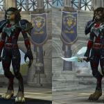 И всё же воргенка Warlords of Draenor даже растрёпана как-то более симпатично, чем пандарийская.