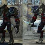 Модели персонажей Warlords of Draenor даже ликом как-то посветлее. Хотя в случае воргенов это, наверное, не главное?