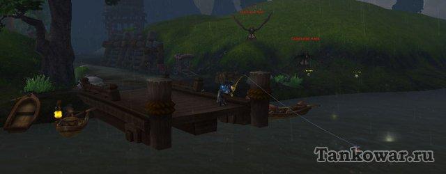 Зачем ловить неизвестно где и под дождём, если теперь это можно делать в своём гарнизоне?