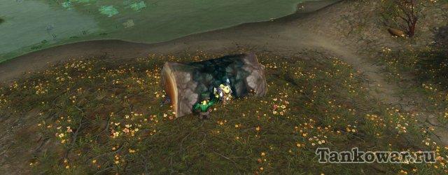 Некоторых последователей гарнизона ВоВ можно найти буквально под деревом.