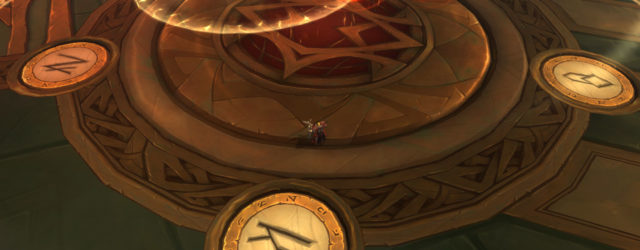 Чтобы получить своего классового маунта в Легионе, придётся как повыпрыгивать из круга, так и побегать от вращающихся мечей.