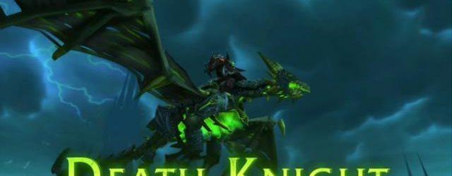 Рыцарь смерти, узнавай, как получить классового маунта в Легионе, и летай на этом красавце!