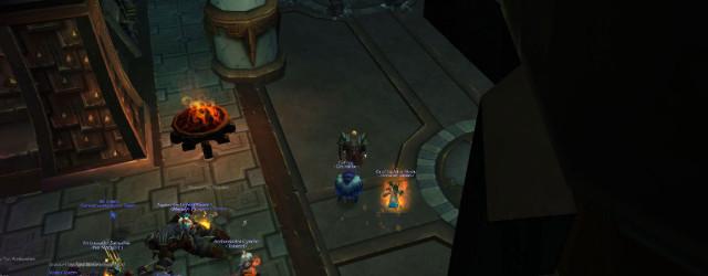 Монастырь Шадо-Пан встречает игроков двумя пачками треша. Первая - уже повержена. Да и второй осталось недолго…