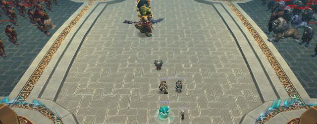 Дворец Могушан, как любой уважающий себя дворец, имеет короля. Это который по центру.