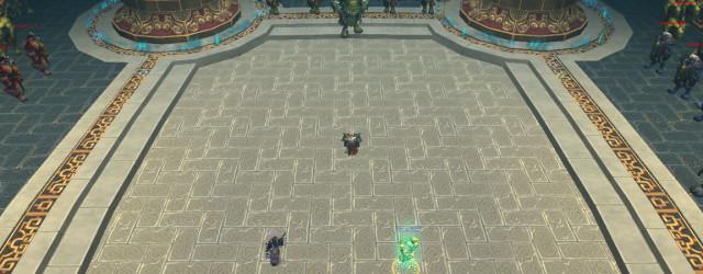 Дворец Могушан выдвигает против нас первого подбосса.