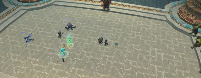 Дворец Могушан представляет 3-го бойца - Хайана Неудержимого. Полукруг на полу за зрителями после боя превратится в лестницу, ведущую в глубь дворца.