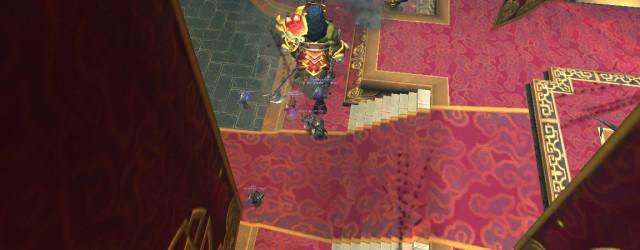 Мастер Боя Синь влупил Ударной волной. А там никого уже и нет.