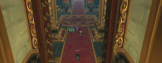 Синь хоть и Мастер Боя, но поступил опрометчиво, поставив таких несерьёзных часовых перед своим тронным залом…