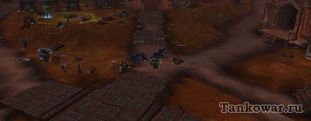 Дорожка, уходящая вправо, и будет иметь ключевое значение в трёхтанковой тактике против Коркронских тёмных шаманов.