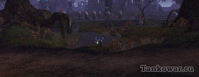 Вот вокруг этого дворца и фармится репа для первого квеста цепочки на легендарный плащ.