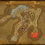 Карта второго поля сражения цепочки квестов Чёрного принца.
