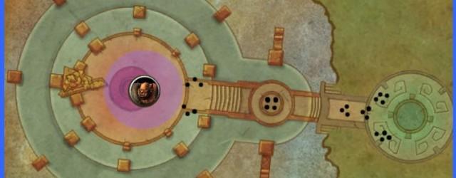 Терраса Вечной Весны (1-ая переходная локация Гарроша Адского Крика) – тактика рейда и расположение ша.