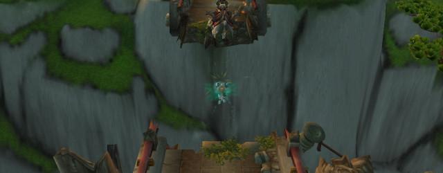 Вот как попасть в святилище Ордоса - использовать автоматическую волшебную энергию плаща!
