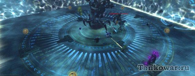 На героик Нарусхене тактика Осады Огримара позволяет спуститься вниз сразу пяти игрокам.