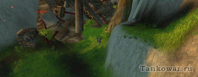 Вот в этих руинах и начинается цепочка квестов на «Час лапши».