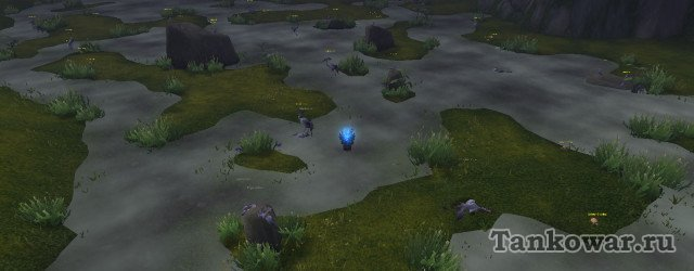 Лежбища грудок журавлей в Долине 4 ветров, так необходимых тележкам «Часа лапши: бонус».