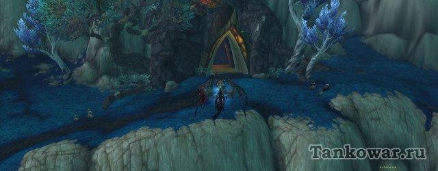 Вход в пещеру для выполнения квеста «Усиления сигнала».