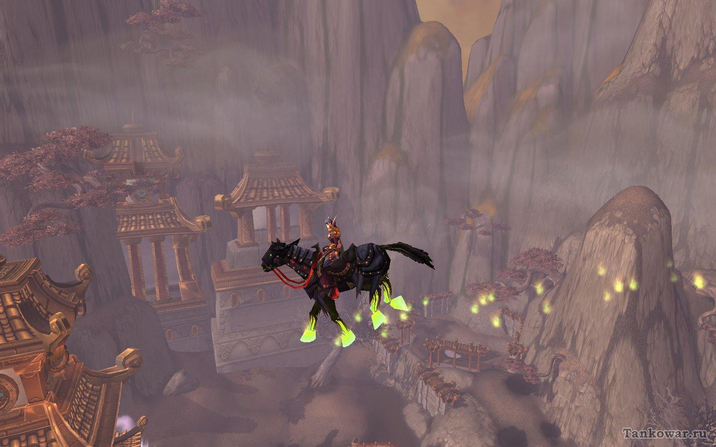 Ещё один представитель класса демонических лошадок - ездовое животное с Тыквовина.