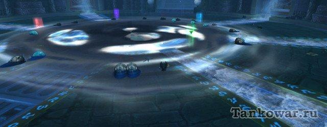 Чтобы получить Порождение Галакраса, вот эти вот чёрные капли надо не допустить к луже Глубиния.